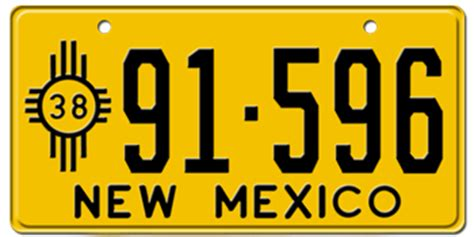 New Mexico Vanity Plates by Custom New Mexico License Plates Free Us Shipping