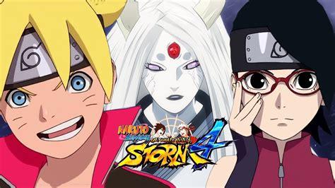 boruto vs kaguya naruto storm 4 kaguya otsutsuki sarada uchiha and