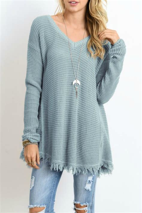 Tunic By wishlist sweater tunic fringe from mississippi by bay