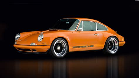 vintage orange porsche porsche wallpaper hd image 202