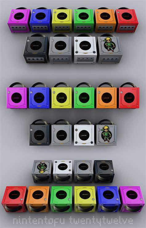 gamecube colors nintendo gamecube