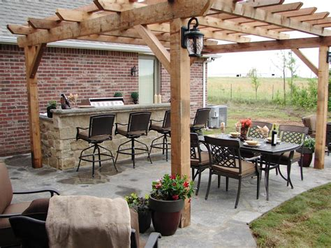 pergola outdoor kitchen outdoor kitchens and grilling spaces diy outdoor spaces