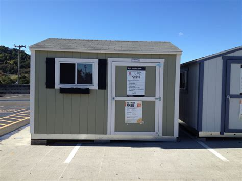 made a easy 2 story storage sheds home depot details