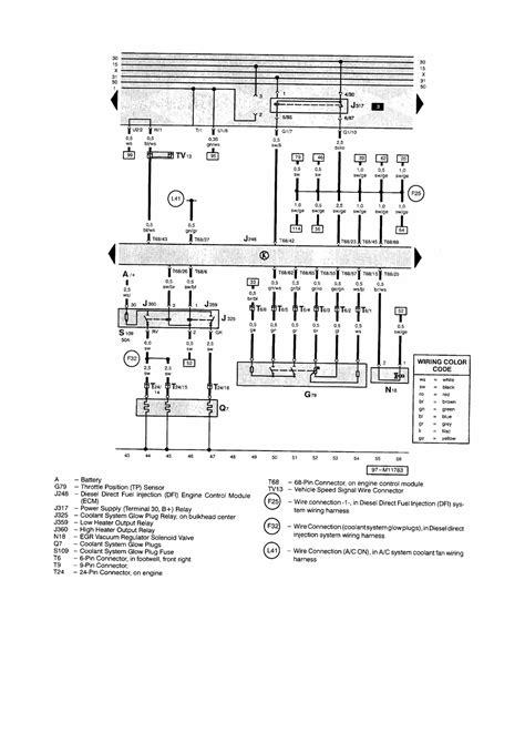 jetta volkswagen 2002 vw 2002 beetle glow plug relay location wiring diagram