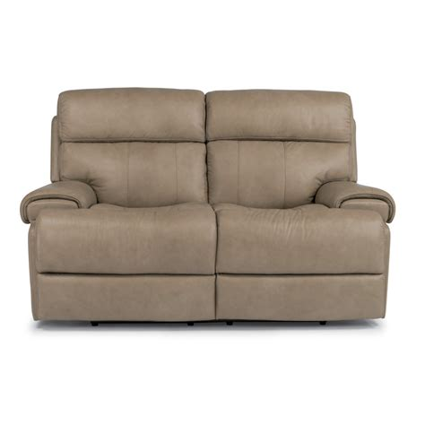 flexsteel loveseat recliner flexsteel 1441 60p margot leather power reclining loveseat
