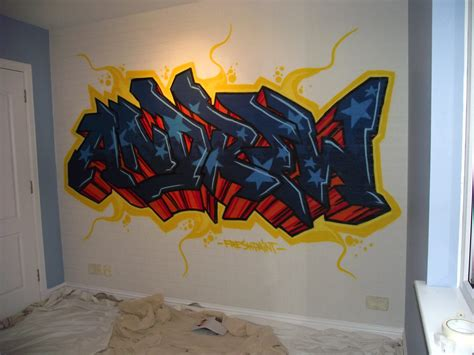 bedroom graffiti kids bedroom mural aberdeen fresh paint