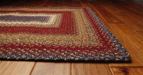 log cabin rug log cabin step cotton rug by homespice