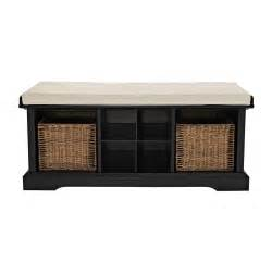 crosley cf6003 brennan entryway storage bench atg stores