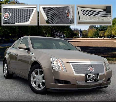 Cadillac Cts Grills by 2008 Cadillac Cts Custom Grill