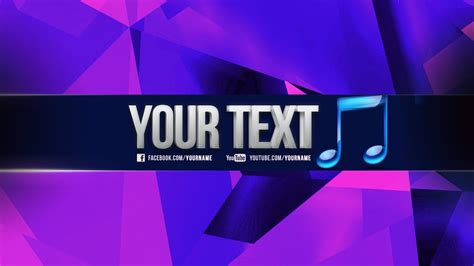 Free Amazing Youtube Banner Channel Template Psd 3d Text New 2015 ツ Direct Download Link Free Channel Banner Template