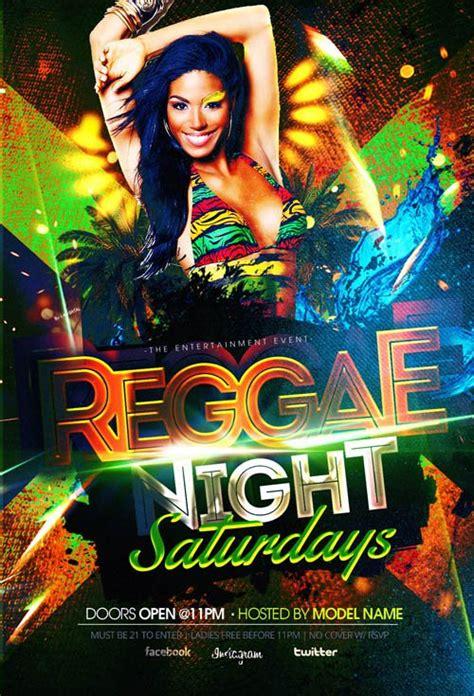 template flyer reggae reggae nightlife flyer template heroturko download