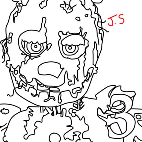 Fnaf 1 Coloring Pages by Fnaf Printables Fnaf Coloring Pages Search Results