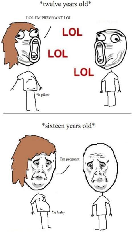 Funny Pregnancy Memes - funny meme pregnant image 343930 on favim com