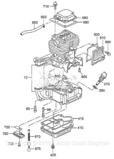 subaru engine parts diagram robin subaru eh035 parts diagram for crankcase parts