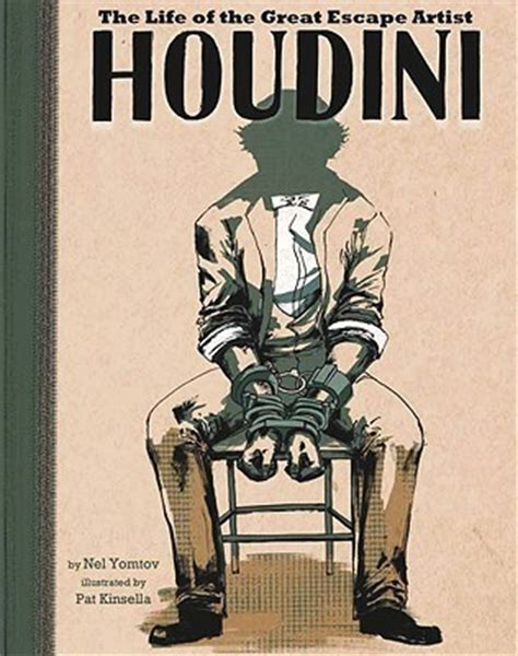 the escape artist books houdini the of the great escape artist by agnieszka