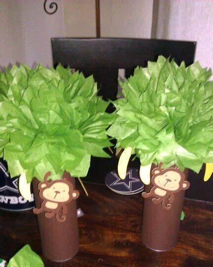 Diy Monkey Baby Shower Decorations by 25 Best Ideas About Monkey Decorations On