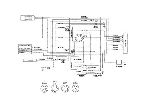 yardman tractor wiring diagram wiring diagram manual
