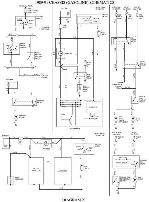 Diagram for location for fuel pump relies for ford 1989 4