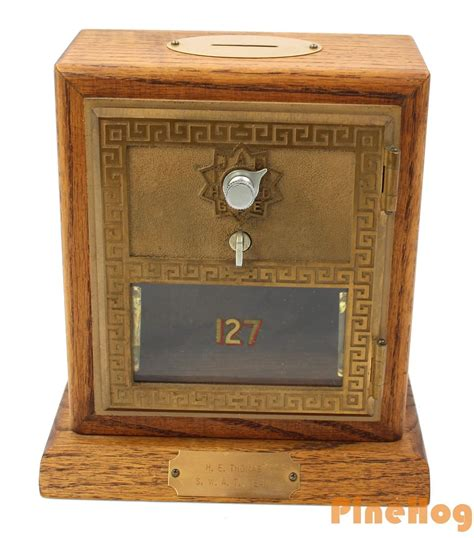 Exclusive Celengan Post Box Mail Coin Box jolly industries olde tyme reproductions bank safe post office lockbox what s it worth