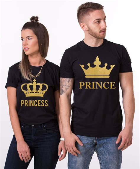 Kaos Big Size Porsche Baju Tshirt 2xl 3xl 4xl 1 prince princess shirts with crowns matching couples shirts