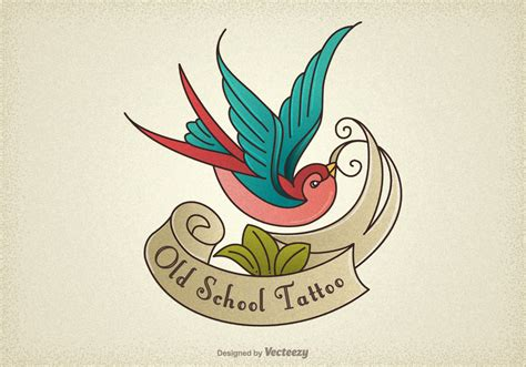 new school tattoo vector old school tattoo vector pictures to pin on pinterest