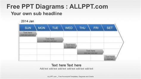 Free Powerpoint Timeline Diagrams Project Milestone Template Ppt