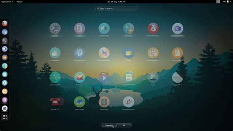themes gnome fedora material theme for linux gnome ubuntu fedora kali mint