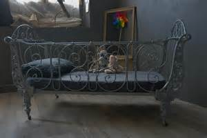 ancien lit en fer forg 233 vendu atelier vintage