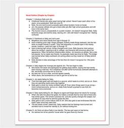 Novel Outline Template Chapter By Chapter by Novel Outline Template 11 For Word Excel Pdf Format