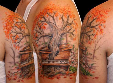 maple tree tattoo maple tree arm tattoomagz