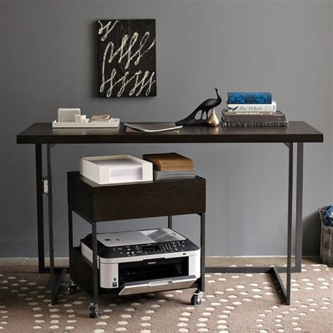 desk printer cart printer stand ikea a smart solution to organize your