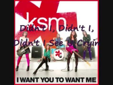 crave you download ksm i want you to want me lyrics download youtube