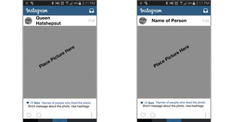 Instagram Template Google Slides Instagram Template Docs