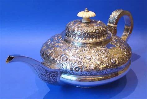 Shuma Termos 035 Liter Silver antique silver ivory teapot daniel bexfield antiques