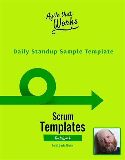 Scrum Templates That Work Daily Standup Sle Scrum Daily Standup Template