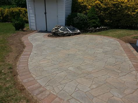 flagstone patio pavers patio design ideas