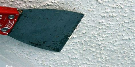 how to get rid of popcorn ceiling texture 222 best images about diy on chalk paint desk