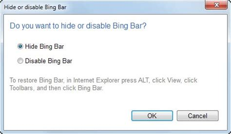 how can i remove bing from internet explorer 9 makeuseof how to uninstall the bing bar ghacks tech news