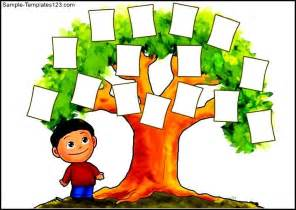 Free Family Tree Printable Template by Printable Family Tree Template For Sle Templates