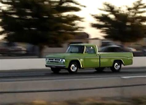 Fast Sleeper by Trucking Fast Wednesdays 1971 Dodge Drag Sleeper