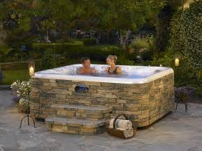 Outdoor Spa Tub Make You Day Cool With Outdoor Hotspring Spas