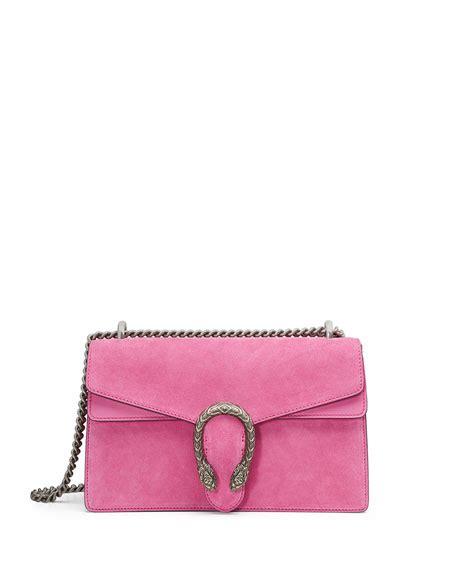 Garucci Bag Pink 2 gucci dionysus small suede shoulder bag bright pink neiman
