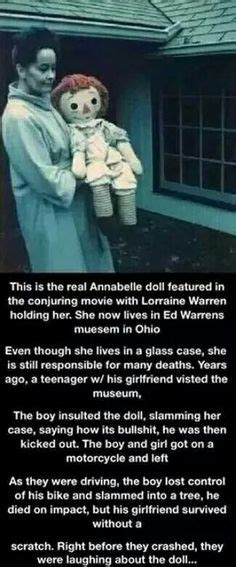 annabelle doll laugh the real annabelle doll details http www