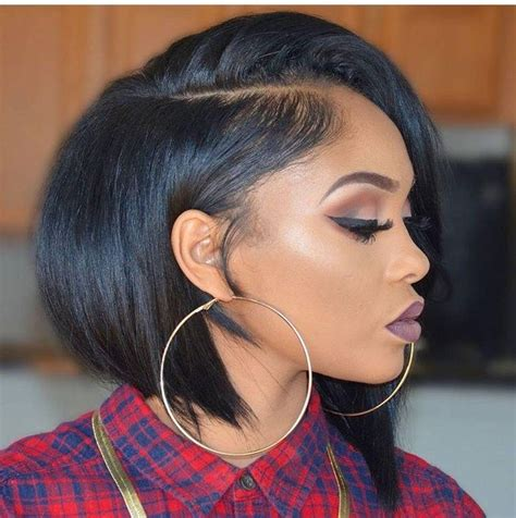 Black Hairstyles With Weave By Way by 15 Inspirations Of Bob Hairstyles With Weave