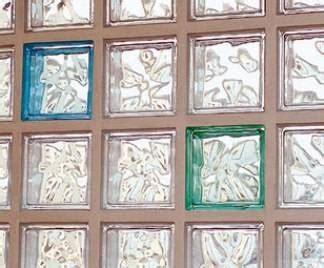 mattoni in vetro per interni vetrocemento per esterni vetro