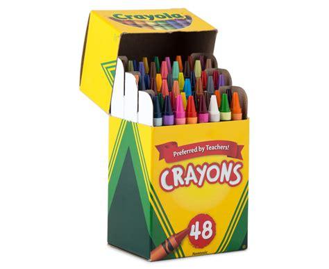 Crayola Crayons 48 4 x crayola crayons box 48 pack great daily deals at