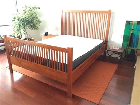 Mission Style Bed Frames Beautiful Mission Style Bed Frame For Sale Vancouver City Vancouver