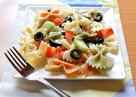 cold pasta salad cold pasta salad with mint