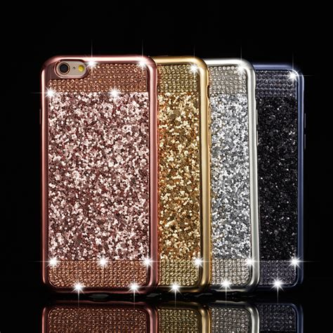Casing Hp Cover Soft Iphone 6 6s Luxury Bling Product Import 1 creatvalu luxury bling glitter soft tpu skin cover for apple iphone 6 6s plus 7 8