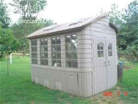 Rubbermaid Greenhouse Shed greenhouse any experience with a rubbermaid greenhouse